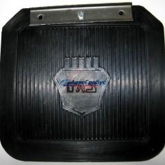 Брызговик колеса ГАЗ-31029 задний резиновый с кронштейном (кт 2шт)