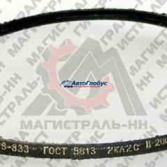 Ремень  833 генератора ГАЗ-53 3307 ЯРТ