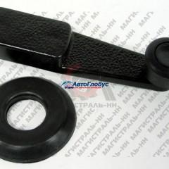 Ручка стеклоподъемника (металл.) с кольцом ГАЗ-241