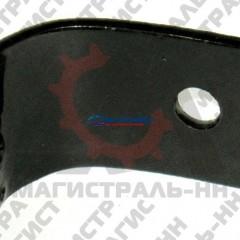 Угольник ремня кронштейна резонатора ГАЗ-2410-3110