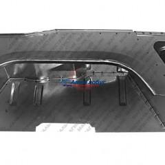 Кожух колеса УАЗ-469 заднего левый в сборе