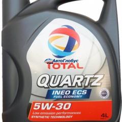 Масло Total Quartz моторное 5W30 INEO ECS 4л.
