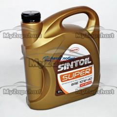 Масло SINTEC моторное 10W40 Супер 5л. (полусинтетика)