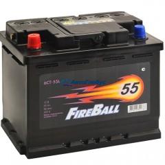 Аккумулятор 55 а.ч. FIRE BALL (п/п)