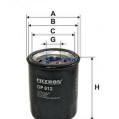 Фильтр масляный RENAULT/NISSAN (OP612)